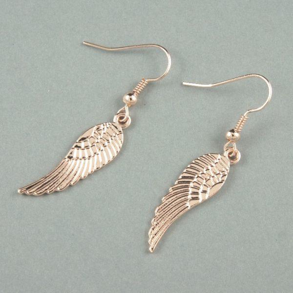 Copan rose gold earrings